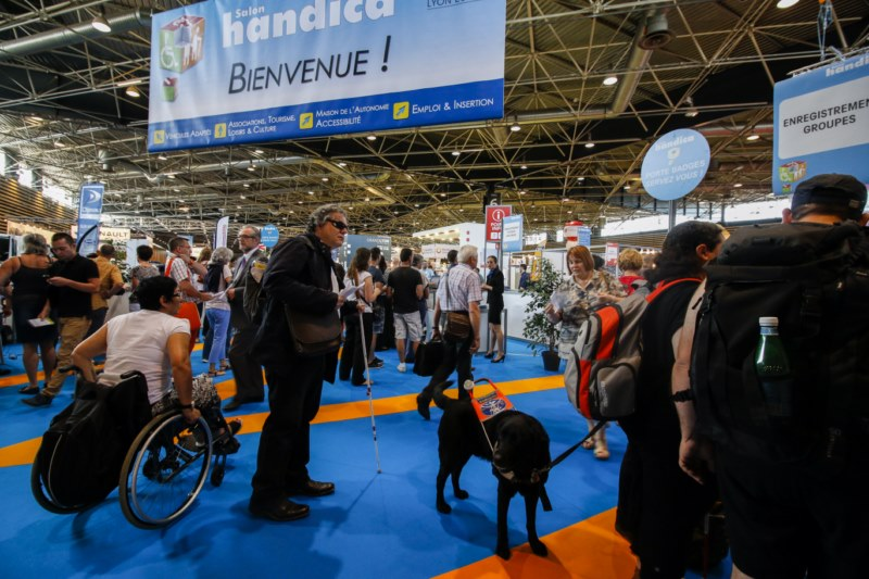 Photo du salon Handica 2015.