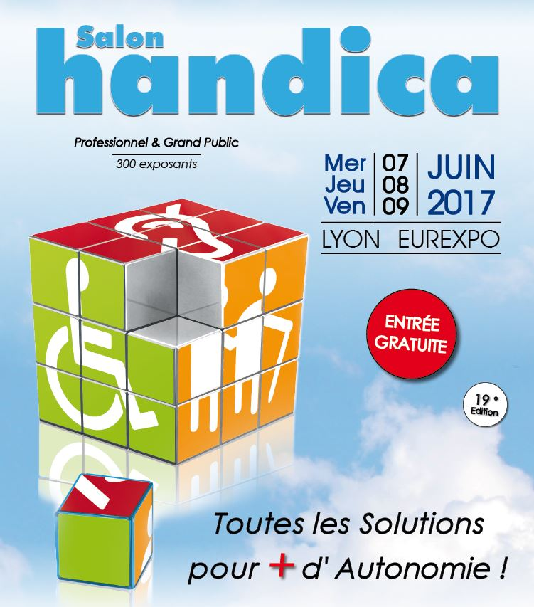 Affiche du salon handica 2017