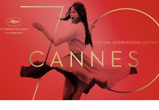 Affiche officielle du Festival de Cannes 2017