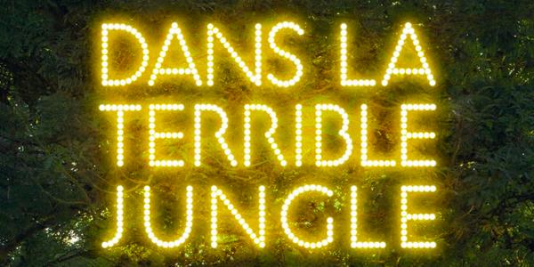 Affiche du film Dans la Terrible jungle.