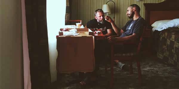 Darius Marder échange avec l'acteur Riz Ahmed
